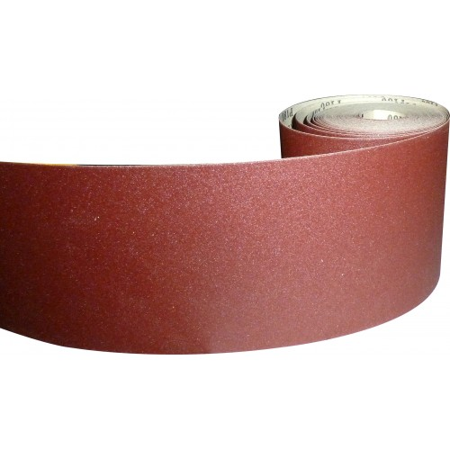 Abrasive Rolls 10m x 115mm - various grades available