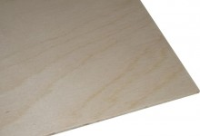 Poplar ply scores on ease of cutting and machining