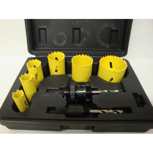 Holesaw Set 8pcs