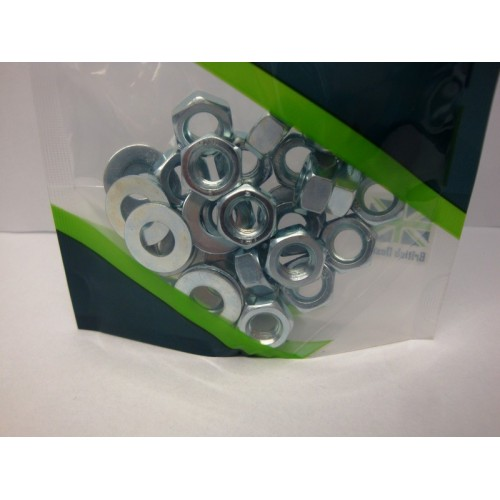 BZP Nuts & Washers - various sizes