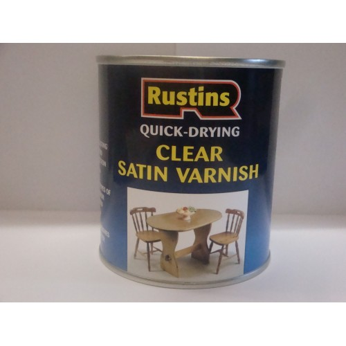 Satin Varnish - Water based