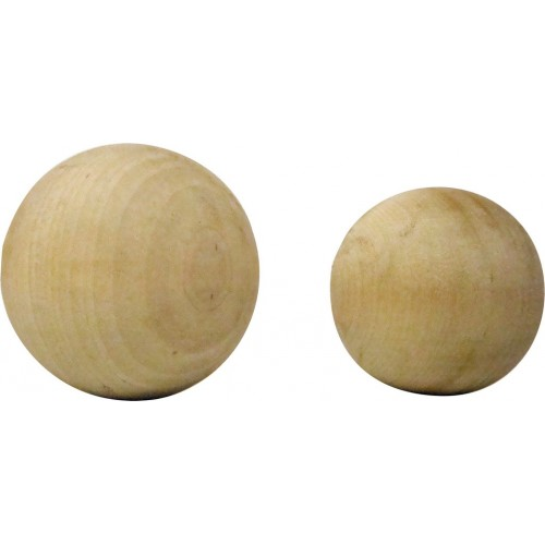 Wooden Balls - various diameters pack of 10